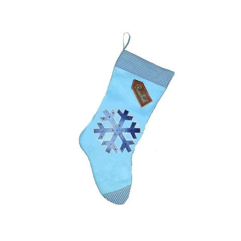 Snowflake Diamante Stocking