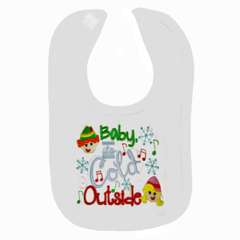 Baby's It's Cold Outside Bib