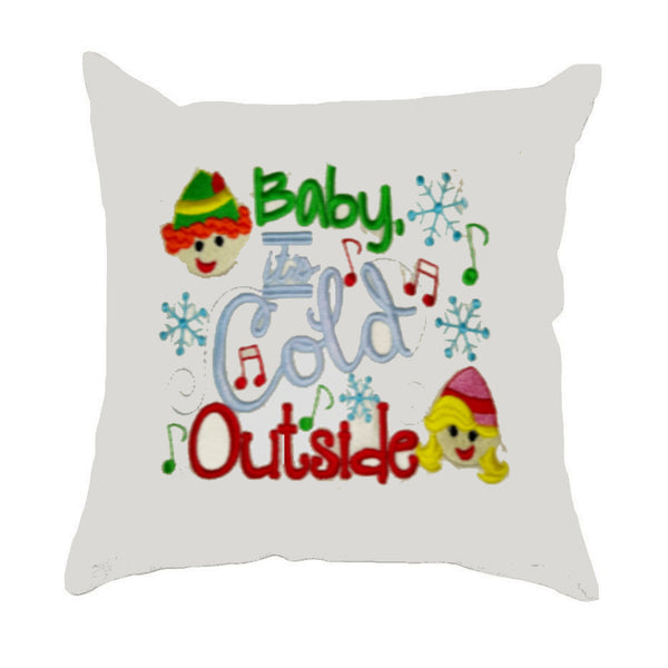 Baby It's Cold Outside Cushion