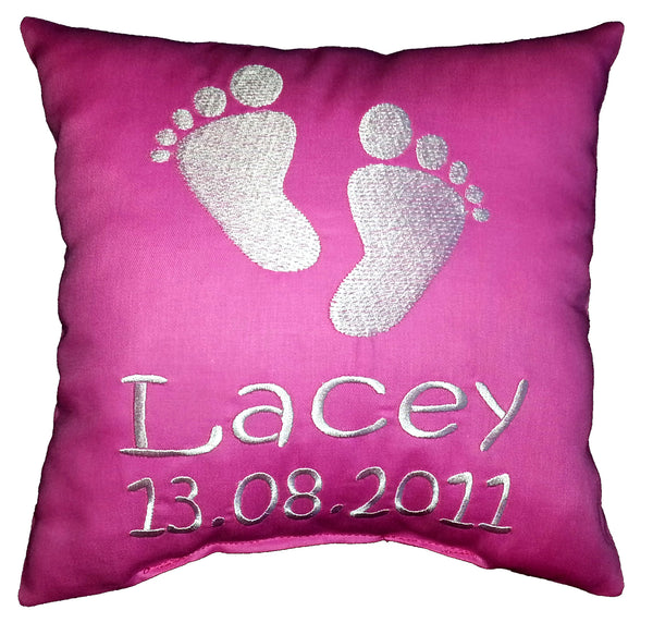 Footprints Cushion
