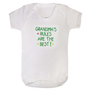 Grandma's Rules are the Best bodysuit