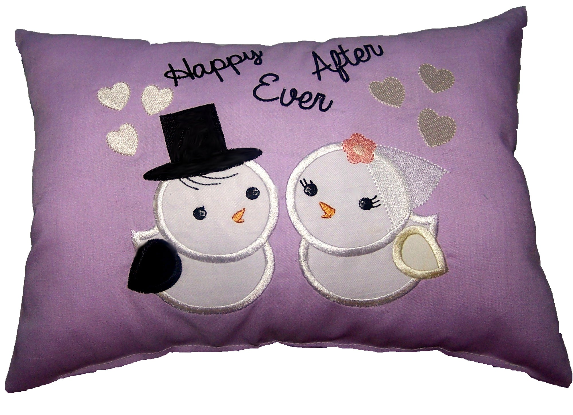 Lovebirds Wedding Cushion