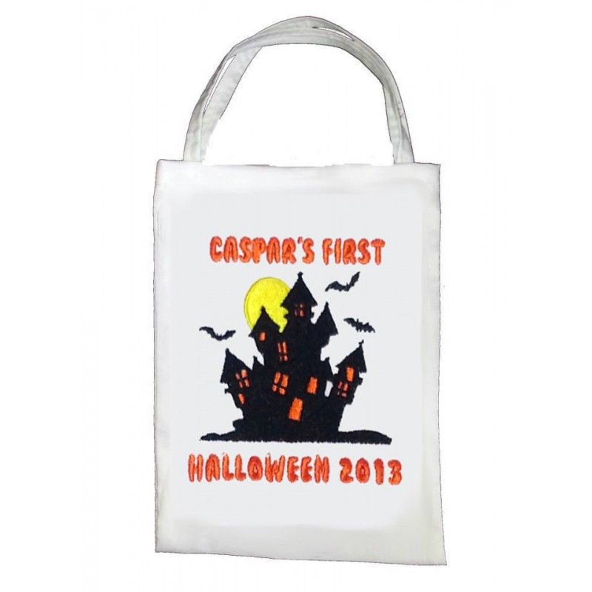 Haunted House Treat Bag