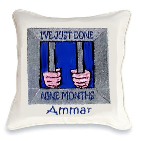 I've Just Done 9 Months Cushion
