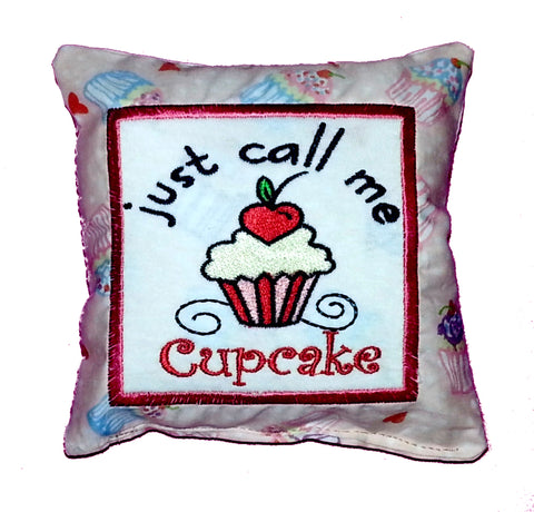 Just Call Me Cupcake Cushion