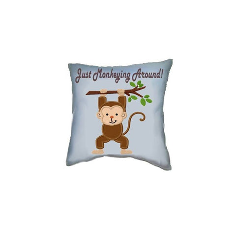 Just Monkeying Around Cushion