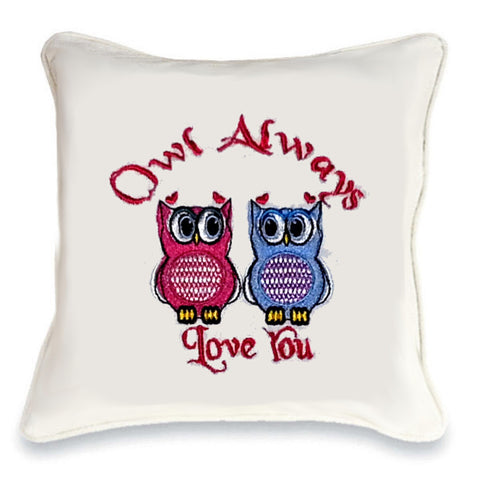Owl Always Love You Duo Cushion