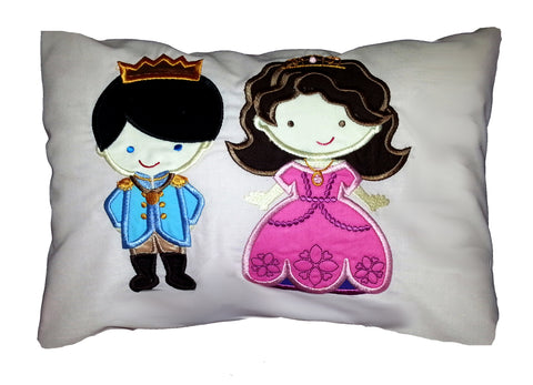 Prince and Princess Couple Cushion