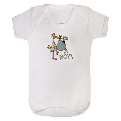 It's a Boy/Girl Stork bodysuit