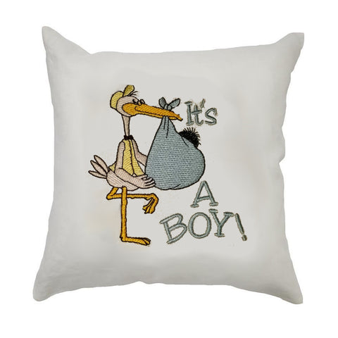 It's A Boy/Girl Stork Cushion