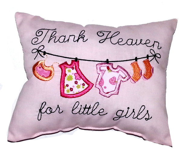 Thank Heaven for Little Girls Cushion