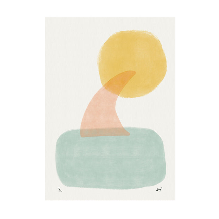 Limited Edition Surf Art Print - Surf Sea Sun