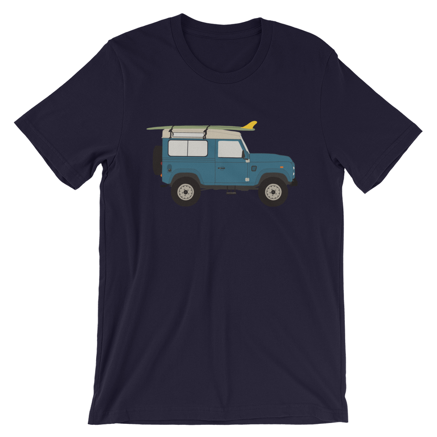 Land Rover graphic unisex T-Shirt in light navy