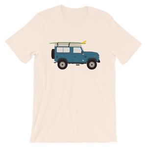 Land Rover graphic unisex T-Shirt in cream