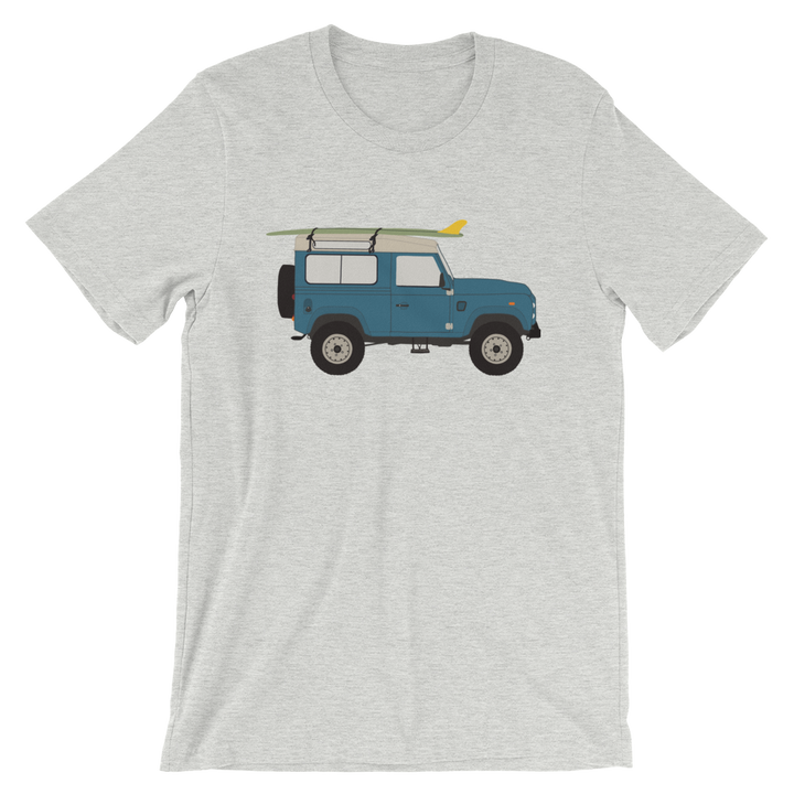 Land Rover graphic unisex T-Shirt in light grey