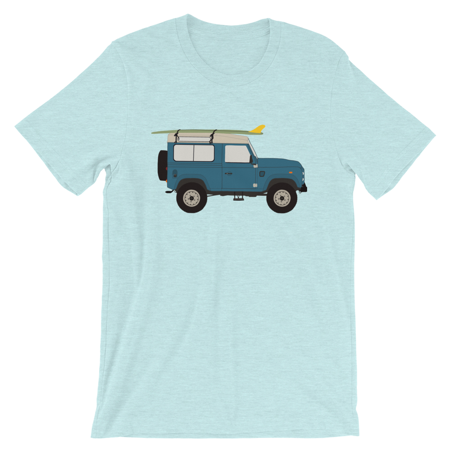 Land Rover graphic unisex T-Shirt in light blue