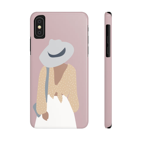 Case Mate Slim Phone Cases | Girl with the Balloon Pants