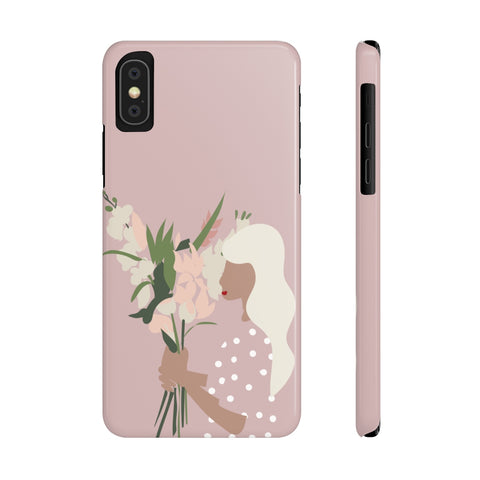 Case Mate Slim Phone Cases | Girl with the Bouquet