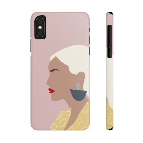 Case Mate Slim Phone Cases | Girl with the Earring (Pink)