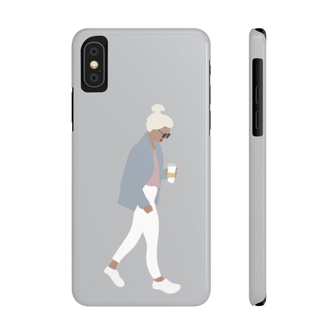 Case Mate Slim Phone Cases | Girl with the Bun