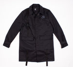 Black Trench 3/4 Jacket