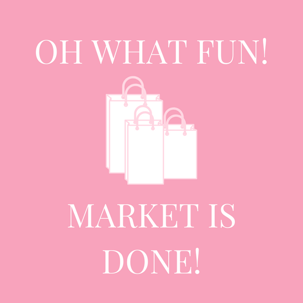 Oh what Fun! Market is Done!