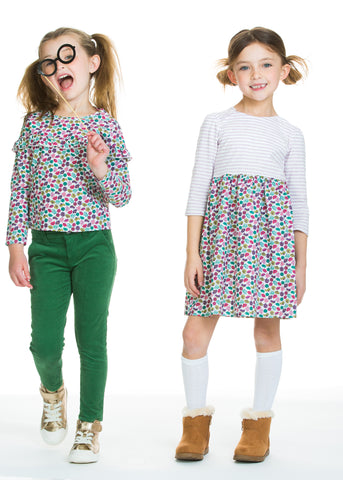 BISBY mix and match clothing for girls