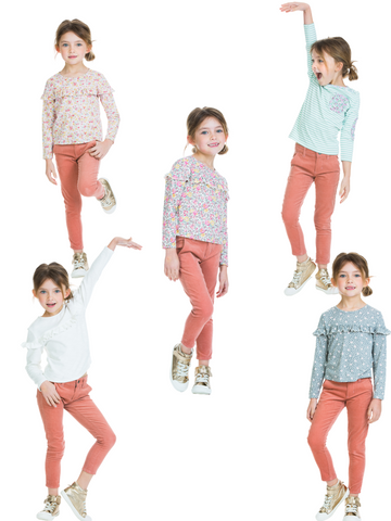 Mix and Match clothing for girls BISBY