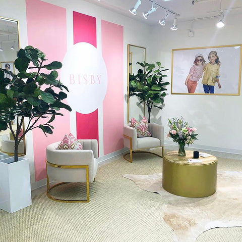 BISBY 's corporate showroom at AmericasMart in Atlanta.  From the creators of classic children's company Little English