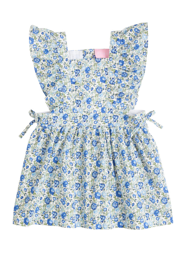 Amelia Dress - Cottage Garden Blue - BISBY