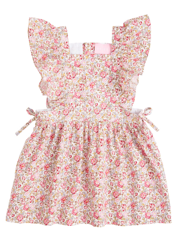 Amelia Dress - Cottage Garden Pink - BISBY