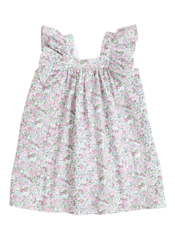 Victoria Dress - Kensington Floral Pink - BISBY