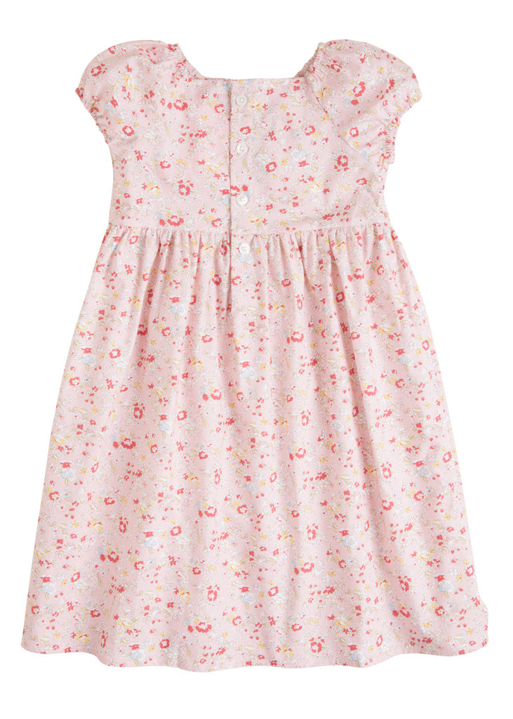 Polly Dress - Pink Daisy - BISBY