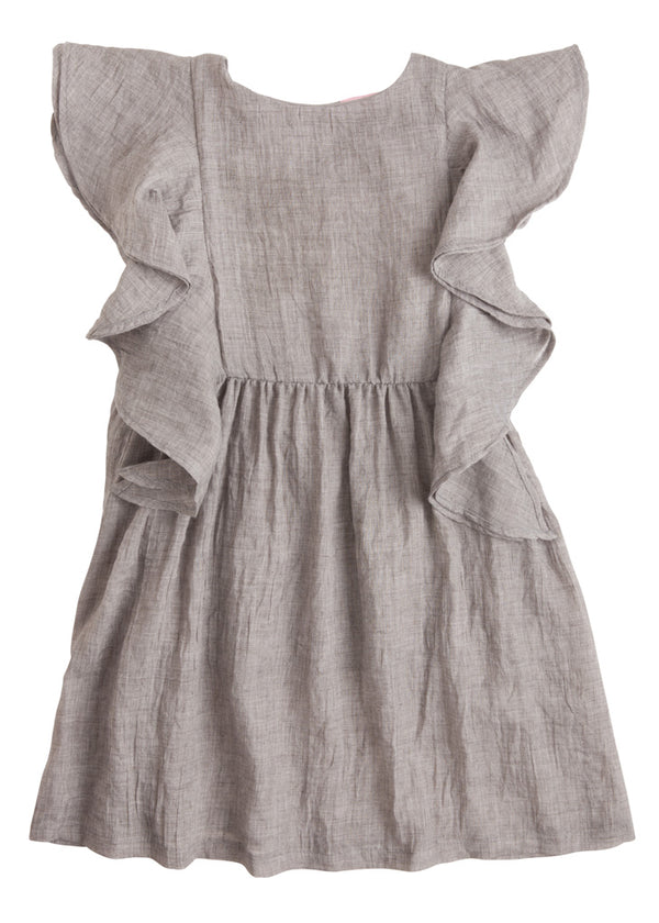 Kate Dress - Grey - BISBY