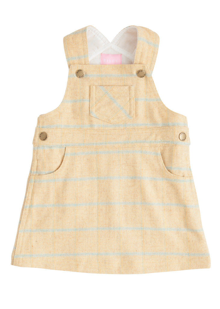 Penny Pinafore - Autumn Plaid - BISBY