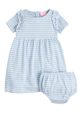 Helen Dress - Blue Stripe - BISBY