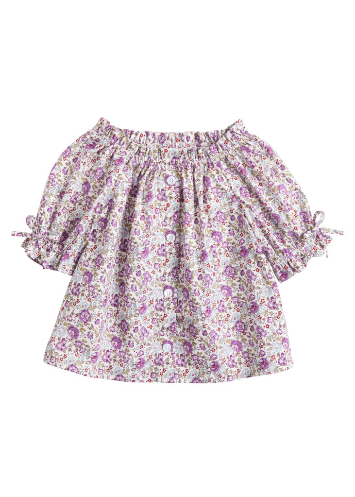 Millie Top - Cottage Garden Lilac - BISBY