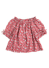 Millie Top - Red Daisy - BISBY