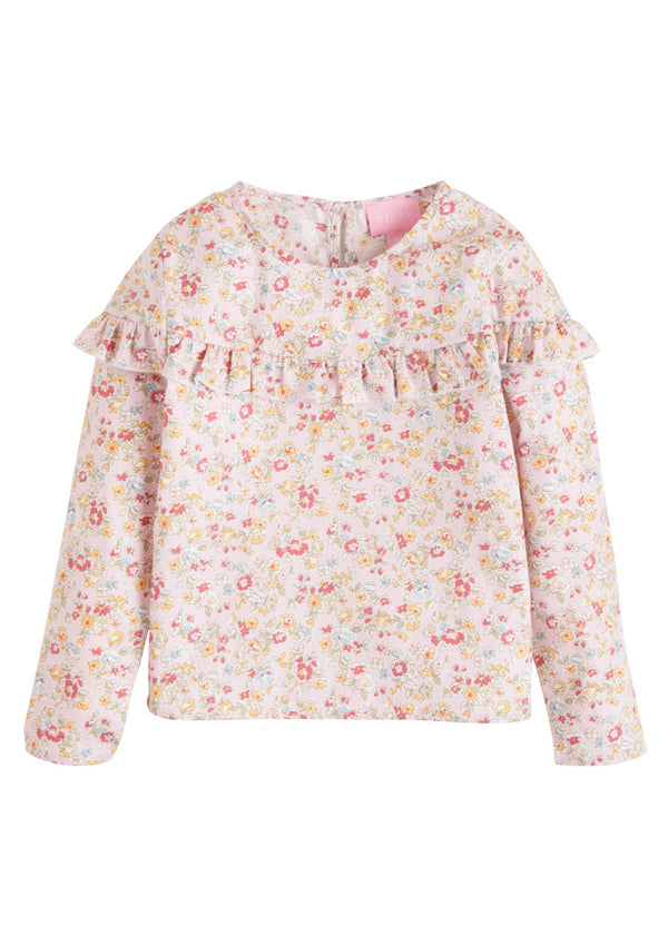 Emily Top - Pink Daisy - BISBY