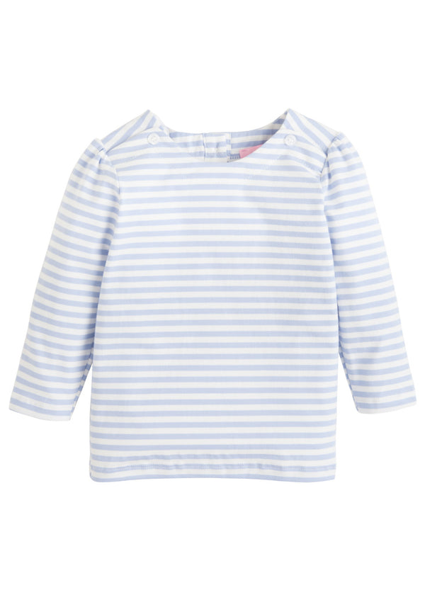 Rosie Blouse - Blue Stripe - BISBY