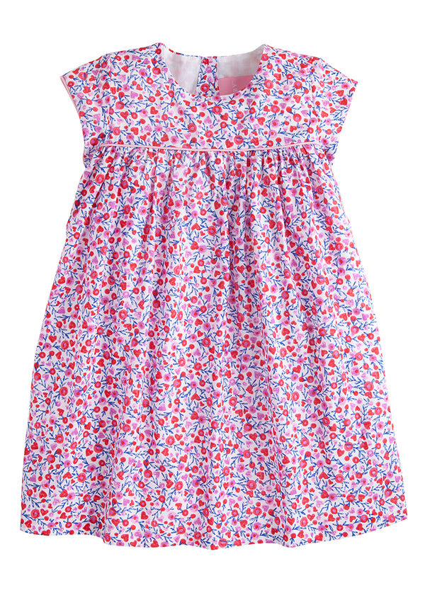 Charlotte Dress - Lots of Love Floral - BISBY