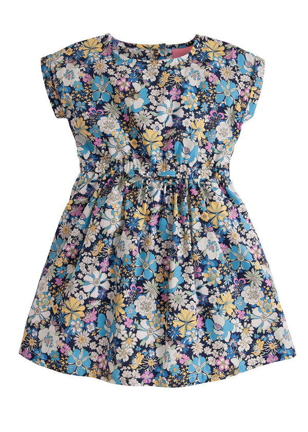Xiexie Dress - Iris Floral - BISBY