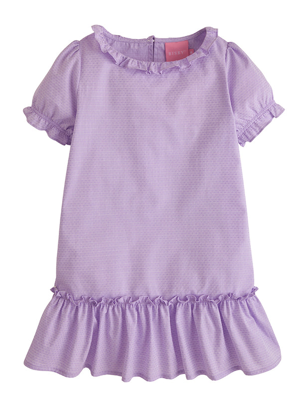 Samantha Dress - Purple Polka Dot - BISBY