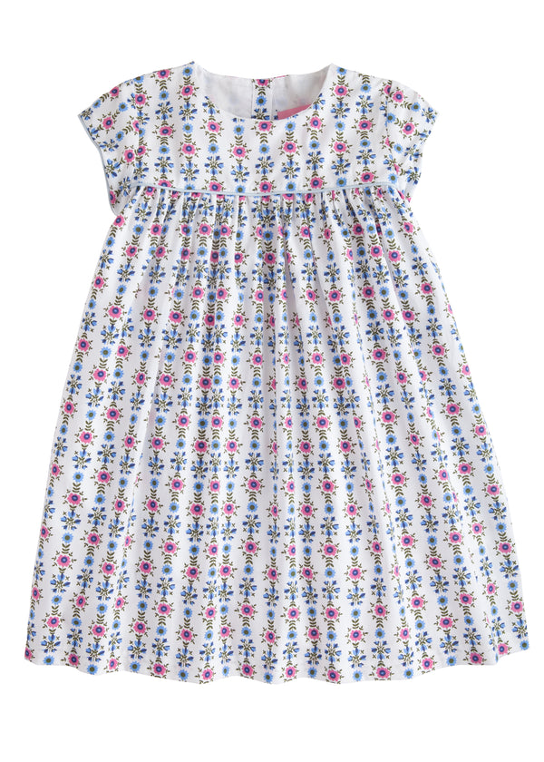 Charlotte Dress - Scandi Floral - BISBY