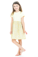 Rosie Dress- Yellow Daisies - BISBY