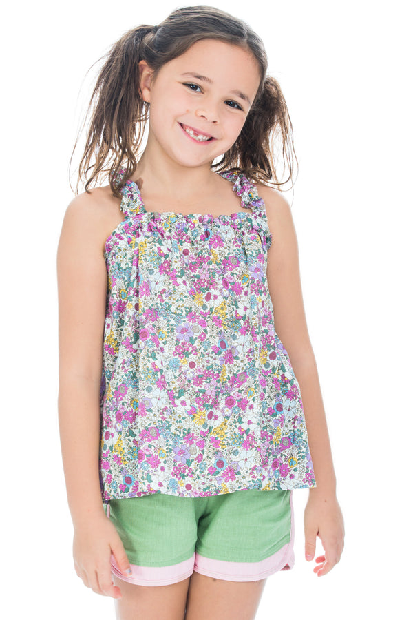Michaela Top - Pucci Floral - BISBY