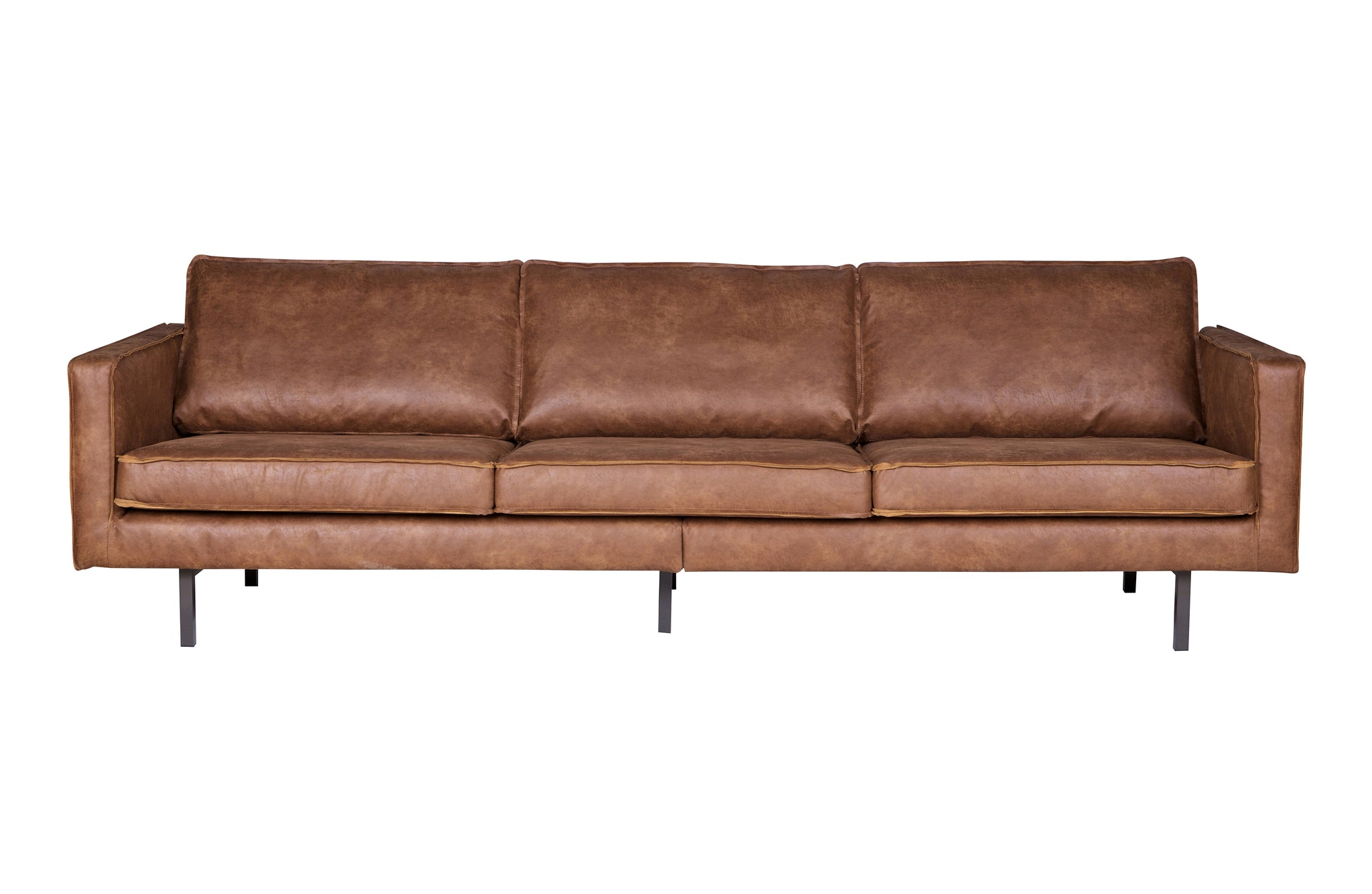 Rodeo Sofa 3-seater Cognac