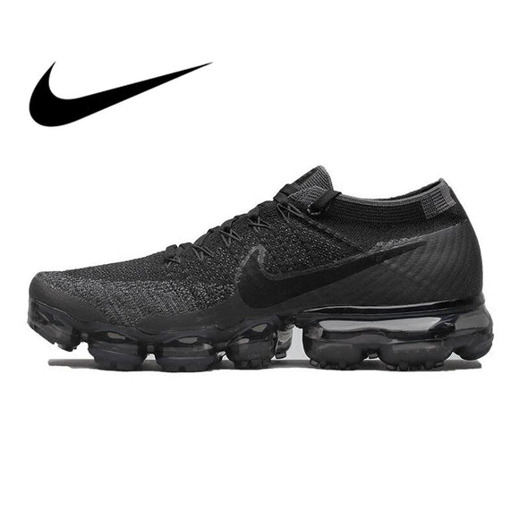 Original Official Nike Air VaporMax Be True Flyknit Breathable Running Shoes for Men Outdoor Sports Low Top Comfortable Sneaker