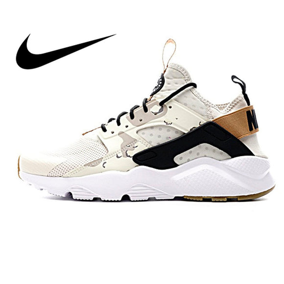NIKE AIR HUARACHE RUN ULTRA Mens Running Shoes Sneakers Sport Outdoor Sneakers Athletic Designer Footwear 2019 New 752038-991