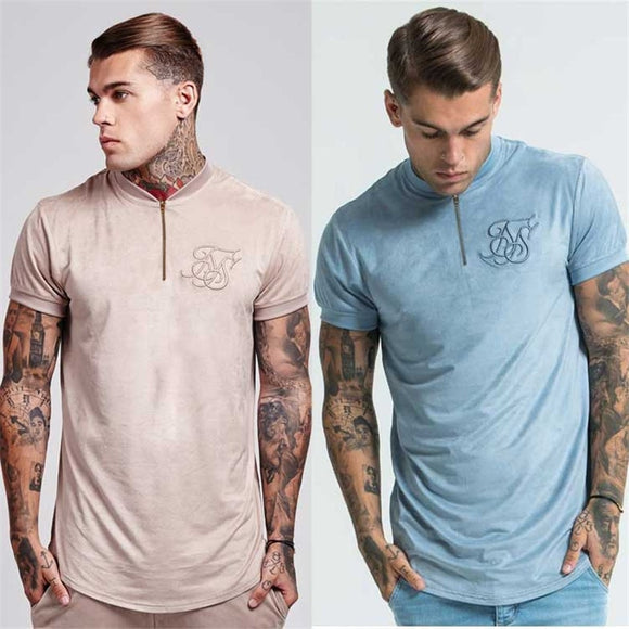 Sik Silk camisetas unicas dos colores disponibles adulto